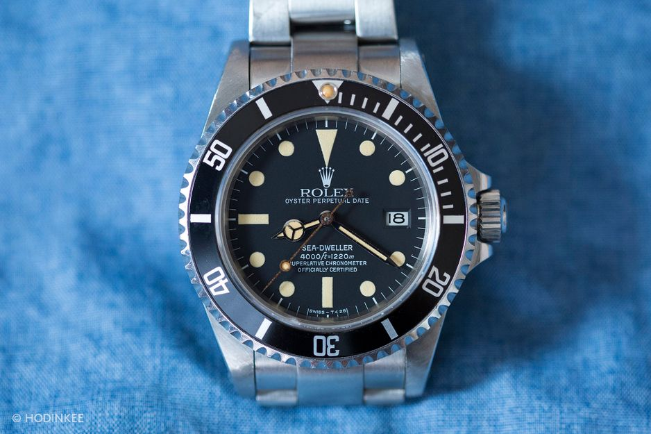 "Rolex Sea-Dweller ""Triple six"""