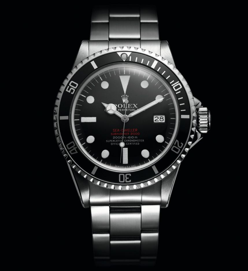 "Rolex Sea-Dweller ""Double red"""